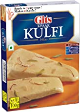 Gits Instant Kesar Kulfi Dessert Mix, 100g