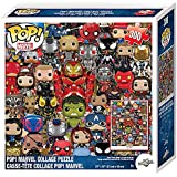 Pop! Marvel Puzzle Collage [300 Pieces]