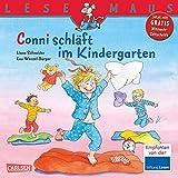 LESEMAUS 102: Conni schläft im Kindergarten