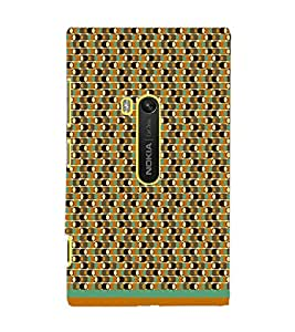 PrintDhaba Pattern D-1576 Back Case Cover for NOKIA LUMIA 920 (Multi-Coloured)