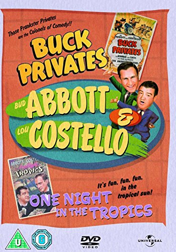 Abbott and Costello - Buck Privates/ One Night In The Tropics [UK Import] -