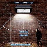 Albrillo LED Solarleuchte mit Bewegungsmelder - 3