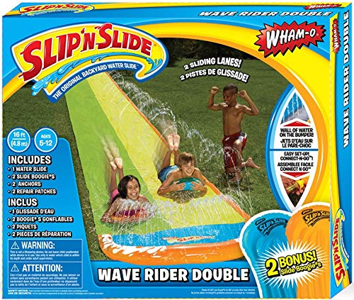 Wham-O 64120 Slip and Slide Double Wave Rider With Boogies