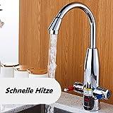 Mr. Peng™ Heißes Wasser Wasserhahn Metall Digitalanzeige Double Mit Heizung Heiß Oder Warmwasserboiler Waschtischarmaturen