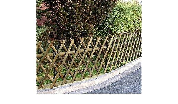 Steccato Estensibile Giardino : Italfrom steccato recinzione con traliccio grigliato estensibile