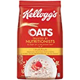 Kellogg's Oats, Rolled Oats, High in Protein and Fibre, Low in Sodium,1kg Pack