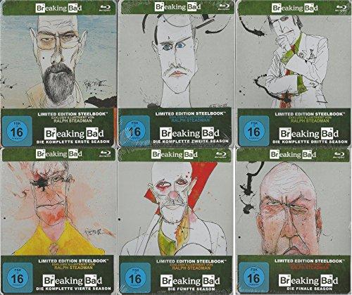 Breaking Bad: Die komplette Serie [Steelbook] [Limited Edition] [Blu-ray] (Die Breaking Bad Komplette Serie)