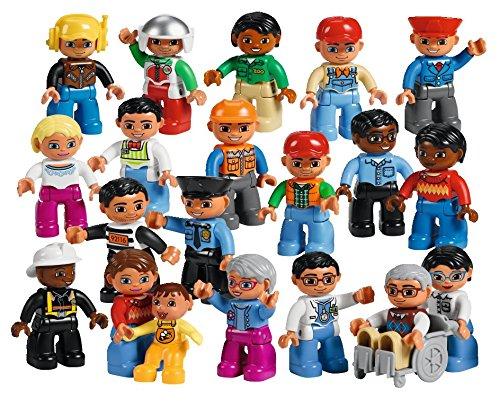 Set Menschen aus der Nachbarschaft (Lego Set Menschen)