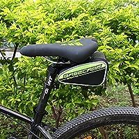 MaMaison007 Tasca esterna impermeabile in bicicletta Mountain Bike bicicletta sella borsa sedile posteriore coda - verde - Atletica Sedile