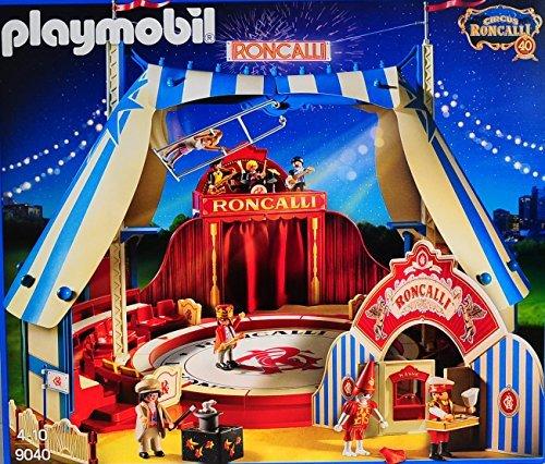 Circus, Spielzeugkiste (PLAYMOBIL - 9040 - Roncalli Circus Zirkus)