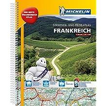 Michelin Straßenatlas Frankreich mit Spiralbindung: DIN A4 (MICHELIN Atlanten)