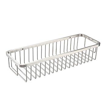 Guluman Bathroom Shower Caddy Deep Bath Shower Basket SUS304 Stainless Steel,  Brushed Finish: Amazon.co.uk: Kitchen U0026 Home