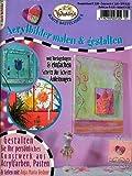 Acrylbilder malen & gestalten - Gestalten Sie Ihr persönliches Kunstwerk aus Acrylfarben, Psten und Gelen (Illustriert inkl. Vorlagebögen in Originalgröße) [Broschiert] (Vielseidig's bunte Bastelidee 5)