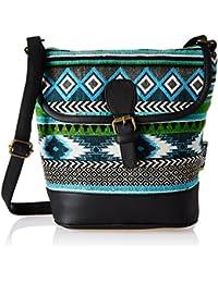 Kanvas Katha Women's Sling Bag (Multicolor) (KKRJQ029)