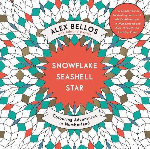 Snowflake Seashell Star (Colouring Books) - Spa Seashell