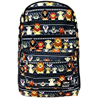 Loungefly x Disney The Lion King Chibi Characters Nylon Backpack