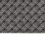 ab 1m: Topmodischer Strick-Jacquard, Rauten, schwarz-weiß breit