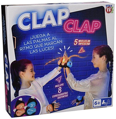 IMC Toys- Play Fun Juego Clap, Multicolor (96332)