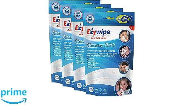 portable syst/ème de refroidissement de voyage jetables Ezywipe compress/é Serviette de nettoyage pour ordinateurs Petite Candy Lot hypoallerg/énique