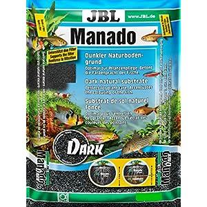 JBL Manado DARK 10 l, Dark natural substrate for aquariums