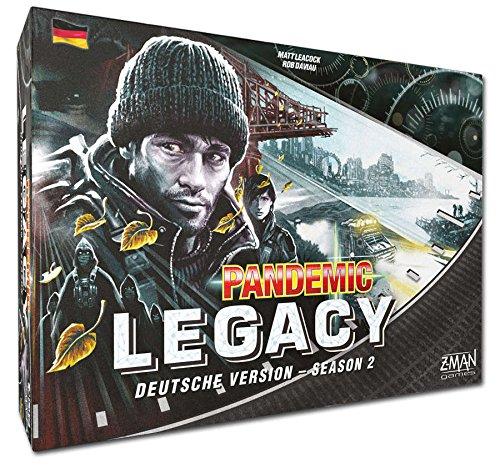 Pandemie Legacy - Season 2 - Brettspiel | Schwarze Edition | Deutsch | FFG