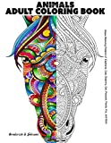 Animals Adult Coloring Book: Stress Relieving Patterns of Elephants, Cats, Dolphins, Owl, Peacock, Panda, Fox, and More: Volume 1 (Stress Relieving Designs)