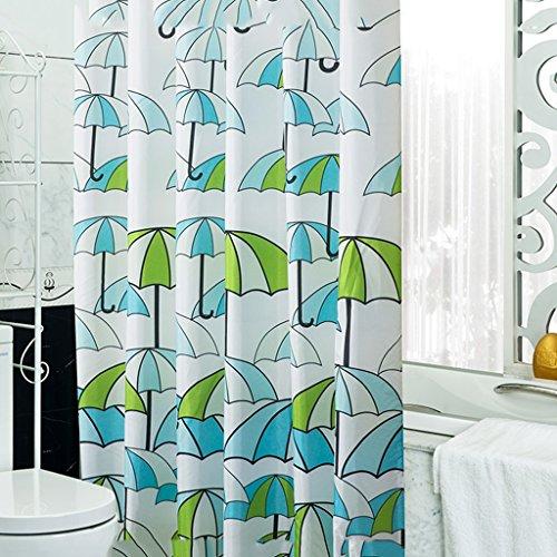 Rideaux de douche Rideau de douche Polyester Salle de bain imperméable Baignade Salle de bain Petit Mode fraîche Cosy Beautifu Durable ( taille : 100X200CM )