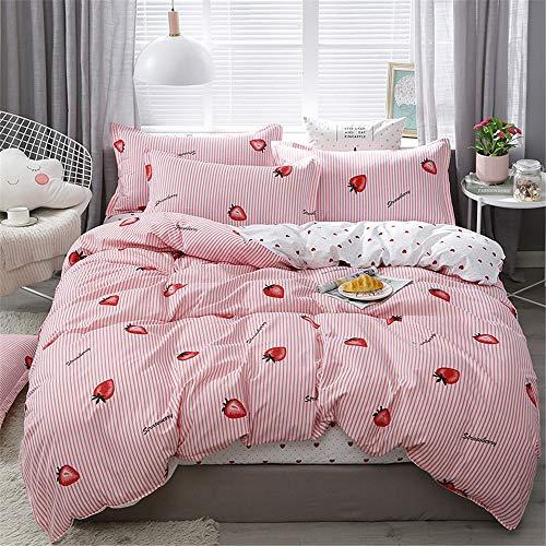 YUNSW Baumwolle Bettbezug Erwachsene Kinder Schlafzimmer Twin Voll Königin König Bettwäsche Bettbezug Tröster Abdeckung Bettwäsche B 200x230 cm -
