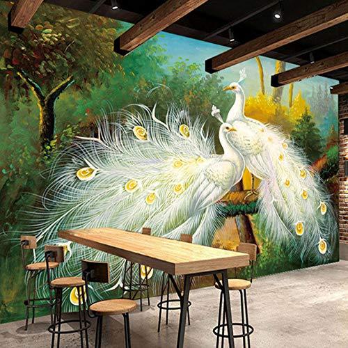 Fototapete Weißer Vogel Vlies Tapete Moderne Wanddeko Tapeten Design 3D Wandtapete Wohnzimmer Schlafzimmer Büro Flur Wand Dekoration Wandbilder - 200x140 cm