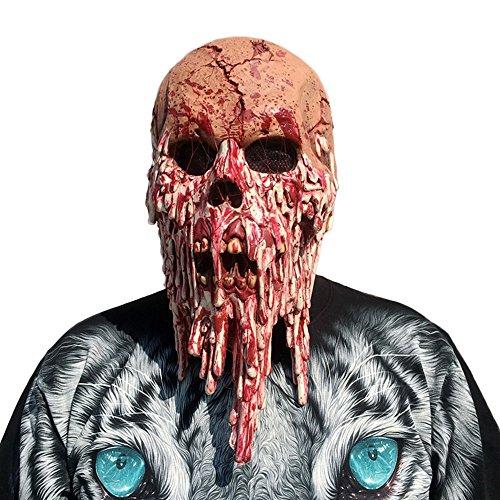 Kingprost-Toy Halloween Masken Erwachsene Latex Horror KostüMe Herren Damen Unheimlich Maske Monster Grusel Spaß In Deluxe AusfüHrung