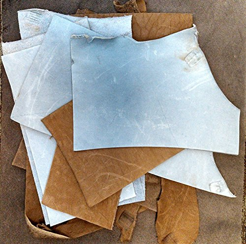 2-Lb Assorted Leather Scraps  Great for Crafts by American Science & Surplus