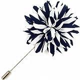 Assorted Fashion da uomo Lapel Flowers Handmade Boutonniere Stick Pin Nozze Nuovo
