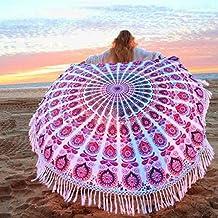 Amazon.fr : serviette de plage ronde