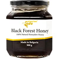 900 g Miel de Miellat de Forêt, Noire, cru, non chauffé, sans sucre, non pasteurisée, sans additifs