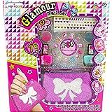 Glamour Nail Set großes Nail Tattoo Nageldesign Studio Nagellack Sticker 76 tlg