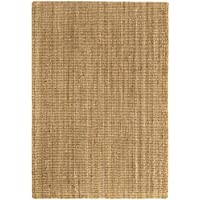 Alfombra Yute Kerala - Alfombra 100% fibra de yute (Natural, 120x170cm)