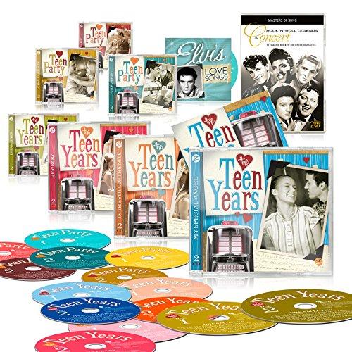 the-teen-years-14-cd-deluxe-edition-set-bonus-cd-elvis-love-songs-free-double-dvd-rocknroll-legends-