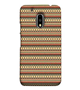 Fuson Designer Back Case Cover for Moto E3 Power ( Ethnic Pattern Patterns Floral Decorative Abstact Love Lovely Beauty )
