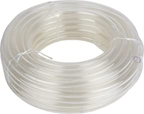 LIFEPLAST 0.75 inch 15 meter Transparent PVC Pipe