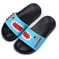Girls Glitter Sliders Fashion Summer Slippers Non-Slip Slide Sandals Lightweight Beach Pool Shoes for Indoor Outdoor