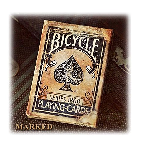Bicycle Deck - Vintage Series 1800 (Blue) inkl. Markierungssystem