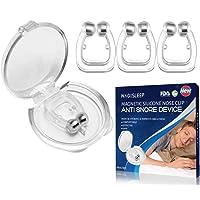 Dilatatore Nasale Antirussamento, Dispositivi Anti Russare Soluzione Anti Russamento Anti Russare Tappo, Silicone Clip…