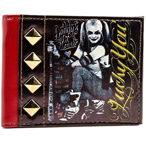 DC Comics Harley Quinn Sei fortunato Nero portafoglio