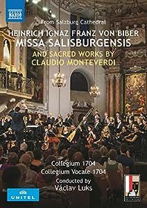 Biber / Monteverdi: Missa Salisburgensis und andere geistliche Werke (Salzburger Dom, 2016) [DVD]