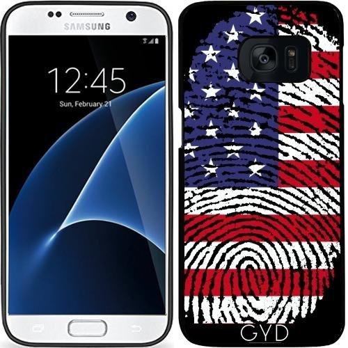 Custodia in silicone per Samsung Galaxy S7 (SM-G930) - America by WonderfulDreamPicture