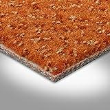 Vorwerk Premium gemusterter Velours-Teppichboden Auslegeware 7219140024 orange - 4m breit