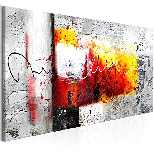 murando Quadro Astratto 120x40 cm Stampa su Tela in TNT XXL Immagini Moderni Murale Fotografia Grafica Decorazione da Parete 1 Pezzo Come Dipinto a-A-0331-b-b