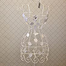 White Metal Filigree Mannequin By Gisela Graham by Gisela Graham