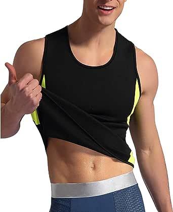 TINGSU Cale/çon Femme Perte de Poids N/éopr/ène Sauna Sweat Gilet Corset Taille Formateur D/ébardeur Faire des Exercices Minceur Body Shaper