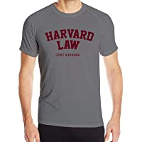 Y-Store Mens Short Sleeve Running Tees, Fast-Drying Sports Tshirt Theme Print - Harvard Law Just Kid
